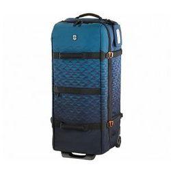 bbcf62fc045cd Torba/Walizka podróżna bardzo duża, poszerzana, 97 litrów, 2 kółka, zamek  TSA, marki Victorinox kolekcja Vx Touring™ - kolor niebieski/morski, 601485
