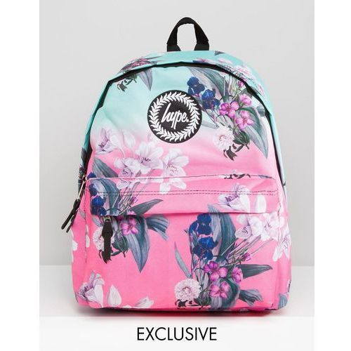 2417dc0ae7a2a Hype Exclusive Ombre Floral Backpack - Multi - ♡ Brendo.pl
