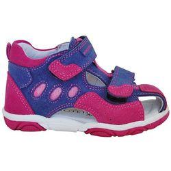 9057f4b8b0 Protetika sandały dziewczęce Bety 23 różowo-fioletowe