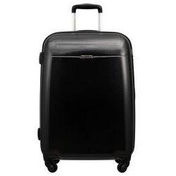 c502c991d706b PUCCINI walizka średnia z kolekcji PC005 VOYAGER twarda 4 koła materiał  Policarbon zamek szyfrowy z systemem TSA kolor: czarny, PC005 B 1