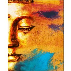 """obrazy nowoczesne """"Budda"""" NOWOŚĆ! MODNE, DESIGNERSKIE WZORY! na płótnie"""