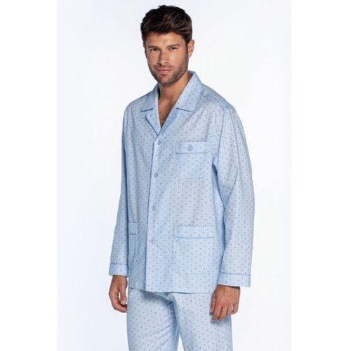 Piżama męska ANTONIO Jasnoniebieski L, kolor niebieski