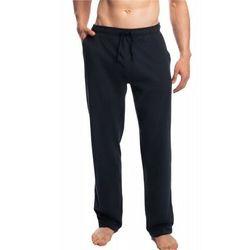 Atlantic Męskie spodnie do piżamy długie nmb 040 granatowe