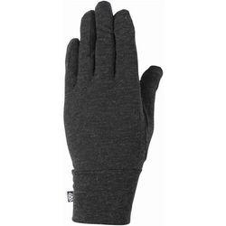 Rękawice - mens merino glove liner black heather (blk) marki 686