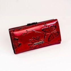 Portfel damski lakierowany czerwony cavaldi pn23