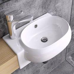 Liniger Umywalka ścienna ceramiczna c001 l/r