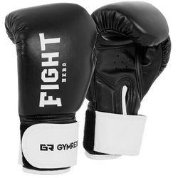 Gymrex Rękawice bokserskie dla dzieci - czarne - 6 oz