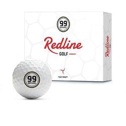 Piłki golfowe redline 99 distance (białe) marki Redline golf