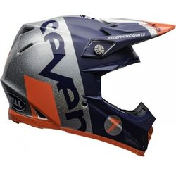 BELL KASK OFF-ROAD MOTO-9 FLEX SEVEN GALAXY NA/SIL