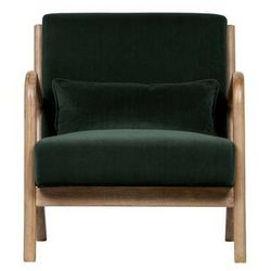 Woood Fotel Mark velvet zielony 373811-F