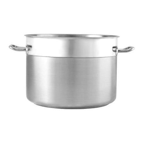 Garnki gastronomiczne, Garnek ze stali nierdzewnej średni - poj. 10 l SILVER