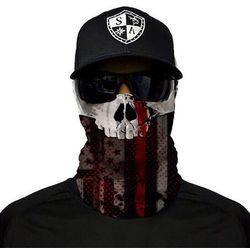 SA Co. Chusta Wielofunkcyjna Face Shield™ Thin Red Line Skull - Thin Red Line Skull