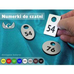 Numerki do szatni - różne kolory - trzy wersje kształtów do wyboru - grubość 3mm