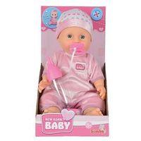 Lalki dla dzieci, NBB Lalka Funkcyjna 30cm, róż - Simba Toys