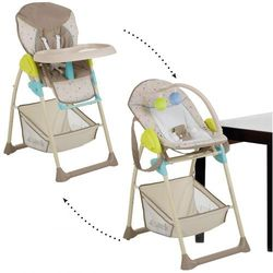 hauck Krzesełko do karmienia Sit'n Relax Multi Dots sand - BEZPŁATNY ODBIÓR: WROCŁAW!