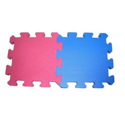 Mata sportowa w formie puzzli Masters MP-1 (hard) - niebieski