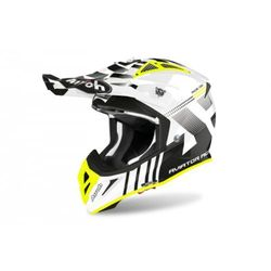 AIROH KASK OFF-ROAD AVIATOR ACE NEMESI WHITE GLOSS