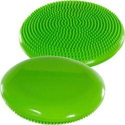 Poduszka do ćwiczeń równoważnych MOVIT Ø 33 cm zielona