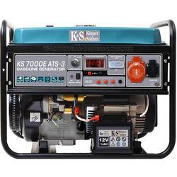 K&S Agregat prądotwórczy KS 7000E ATS-3 5,5kW 13KM beznynowy z elektrostartem