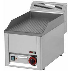 Płyta grillowa elektryczna ryflowana | 320x480mm | 3000W | 330x600x(H)290mm