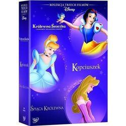 Disney Księżniczka. Pakiet (3 DVD) (Kopciuszek, Śpiąca Królewna, Królewna Śnieżka i siedmiu krasnoludków)