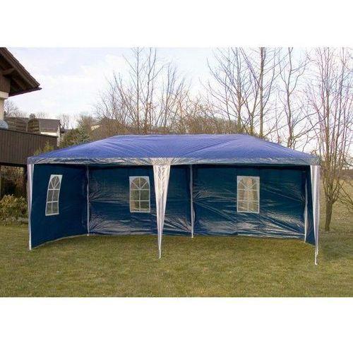 Namioty ogrodowe, PAWILON OGRODOWY 3x6 + 6 ŚCIAN NAMIOT HANDLOWY - Niebieski