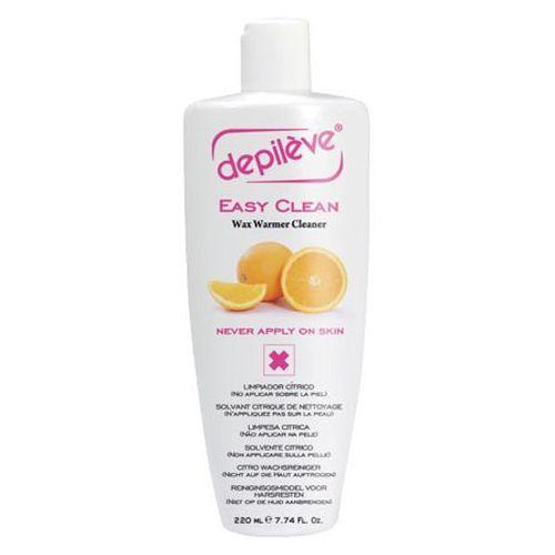 Pozostałe środki do depilacji, Depileve EASY CLEAN Preparat do usuwania wosku z urządzeń (220 ml)