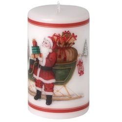 Villeroy & Boch - Winter Specials Świeca św. Mikołaj