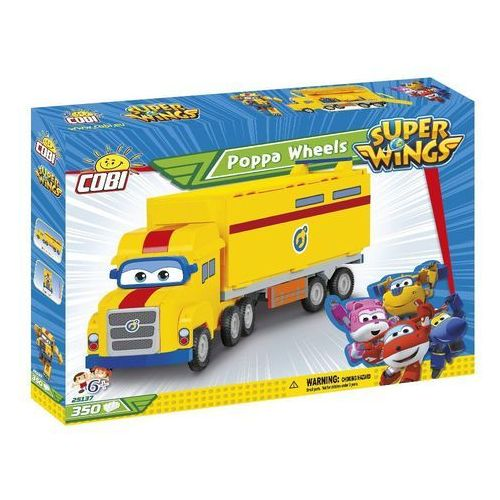 Klocki dla dzieci, Cobi Klocki Super Wings Poppa Wheels