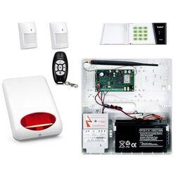 Bezprzewodowy System alarmowy SATEL MICRA + 2 PIR + PILOT + MANIPULATOR + SYGNALIZATOR