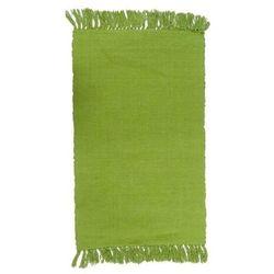 Dywanik 50 x 80 cm jasny zielony