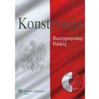 Książki prawnicze i akty prawne, Konstytucja Rzeczypospolitej Polskiej z płytą CD - Praca zbiorowa (opr. twarda)