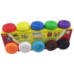 Mac Toys modelina 10 x 50g, różne kolory - BEZPŁATNY ODBIÓR: WROCŁAW!