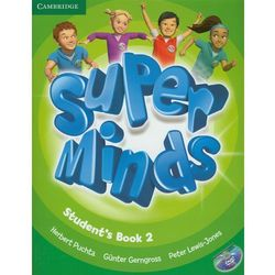 Super Minds 2 Student's Book +Cd (opr. miękka)