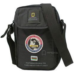 National Geographic EXPLORER torba / saszetka na ramię / N01113.06 - czarny