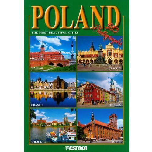 Albumy, POLSKA NAJPIEKNIEJSZE MIASTA WER.ANGIELSKA (opr. broszurowa)