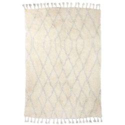 HK Living Wełniany dywan berberyjski jasnoniebieski (180x280) TTK3041