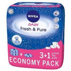 Nivea Baby Chusteczki Pure & Fresh 3+1