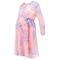 MAMALICIOUS MLKENZA KNEE LENGTH DRESS Sukienka letnia coral cloud