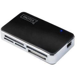 Digitus Czytnik kart pamięci All-in-one, USB 2.0