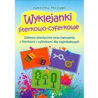 Książki dla dzieci, Wyklejanki literkowo-cyferkowe (opr. broszurowa)