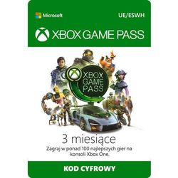 MICROSOFT Xbox Game Pass 3 Miesiące