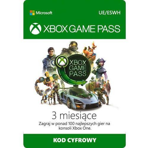 Klucze i karty pre-paid, MICROSOFT Xbox Game Pass 3 Miesiące
