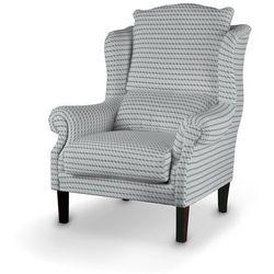 Dekoria Fotel, przestrzenny wzór w odcieniach szarości, 85x107cm, Rustica do -30%