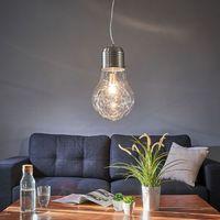 Lampy sufitowe, Lampa wisząca FUTURA w kształcie żarówki