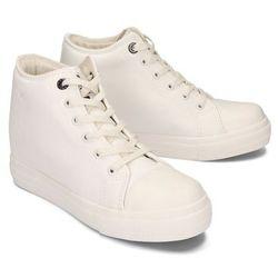 BIG STAR EE274128 biały, trampki, sneakersy damskie - Biały