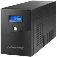 UPSy, Zasilacz awaryjny UPS Power Walker Line-Interactive 3000VA SCL 4xSchuko RJ11/45 In/Out USB LCD