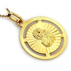 Zawieszka złota medalik kółeczko