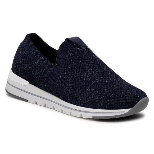 Damskie obuwie sportowe, Sneakersy REMONTE - R6703-14 Blau Kombi
