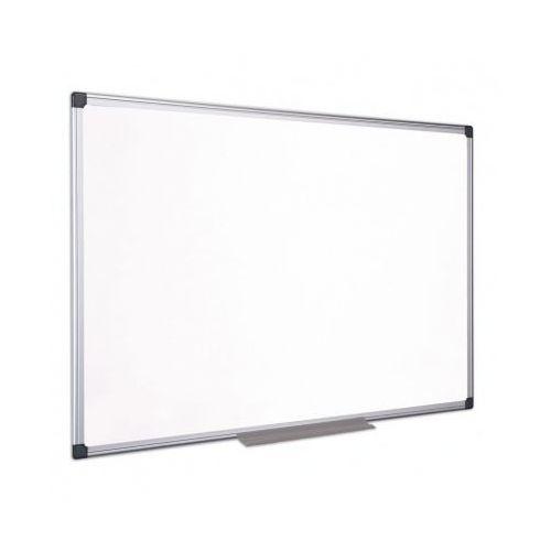 Tablice szkolne, Tablica magnetyczna suchościeralna lakierowana rama aluminiowa 60x90 BI-OFFICE